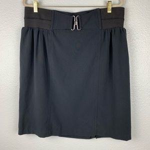 Beverly Drive Black Skirt